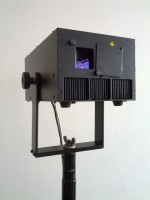 2W RGB full diode laser projector
